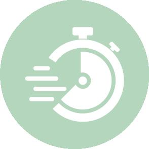 picto exprimant la ponctualité et les notifications du logiciel client - contact EHPC Conseils pascale combabessou