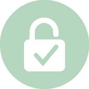 picto sécurité assurée - contact EHPC Conseils pascale combabessou