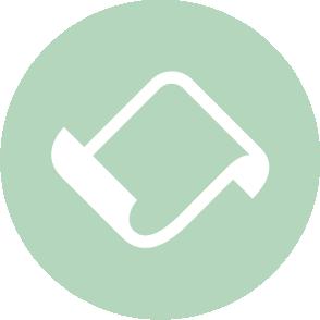 picto symbolisant la déclaration fiscale réalisé par le cabinet d'expertise comptable EHPC Conseils appartenant à pascale combabessou et emilie humbrecht vous conseille - picto vert et blanc