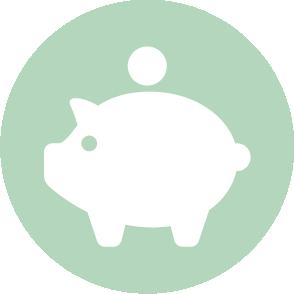 picto symbolisant l'accompagnement lors de la rédaction et de la vérification des bulletins de salaire réalisé par le cabinet d'expertise comptable EHPC Conseils appartenant à pascale combabessou et emilie humbrecht vous conseille - picto vert et blanc