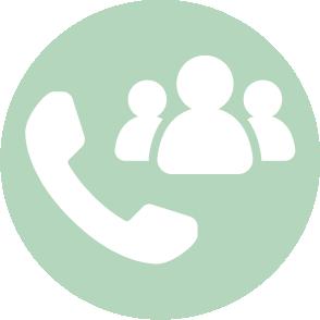 picto symbolisant les relances client réalisé par le cabinet d'expertise comptable EHPC Conseils appartenant à pascale combabessou et emilie humbrecht vous conseille - picto vert et blanc