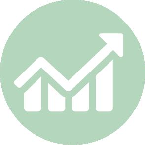 picto symbolisant la situation intermédiaire réalisé par le cabinet d'expertise comptable EHPC Conseils appartenant à pascale combabessou et emilie humbrecht vous conseille - picto vert et blanc