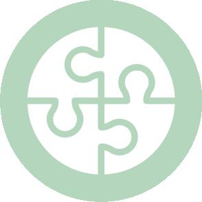 picto symbolisant le budget prévisionnel réalisé par le cabinet d'expertise comptable EHPC Conseils appartenant à pascale combabessou et emilie humbrecht vous conseille - picto vert et blanc