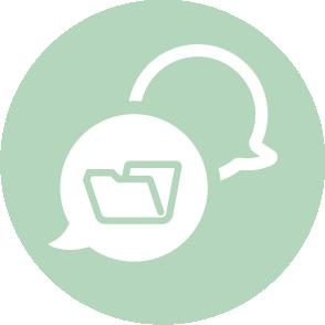 picto symbolisant ll'assistance au controle fiscal réalisé par le cabinet d'expertise comptable EHPC Conseils appartenant à pascale combabessou et emilie humbrecht vous conseille - picto vert et blanc