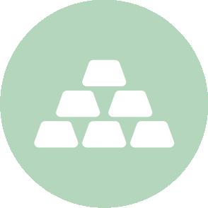 picto symbolisant l'évaluation de l'entreprise réalisé par le cabinet d'expertise comptable EHPC Conseils appartenant à pascale combabessou et emilie humbrecht vous conseille - picto vert et blanc