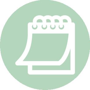 picto symbolisant le tableau de bord réalisé par le cabinet d'expertise comptable EHPC Conseils appartenant à pascale combabessou et emilie humbrecht vous conseille - picto vert et blanc