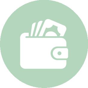 picto symbolisant la déclaration de revenus réalisé par le cabinet d'expertise comptable EHPC Conseils appartenant à pascale combabessou et emilie humbrecht vous conseille - picto vert et blanc