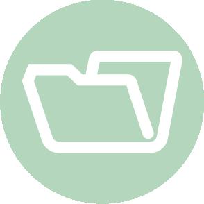 picto symbolisant le reporting réalisé par le cabinet d'expertise comptable EHPC Conseils appartenant à pascale combabessou et emilie humbrecht vous conseille - picto vert et blanc