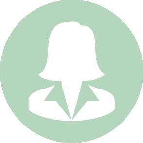 picto symbolisant l'accompagnement du secretariat de direction réalisé par le cabinet d'expertise comptable EHPC Conseils appartenant à pascale combabessou et emilie humbrecht vous conseille - picto vert et blanc